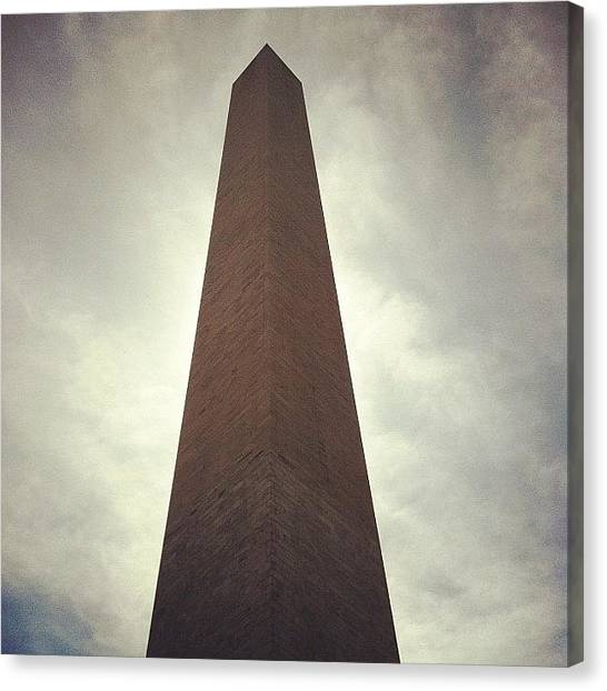 Washington Monument Canvas Print - Washington Monument by Temidayo Aderibigbe