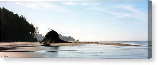 Washington Shore Canvas Print