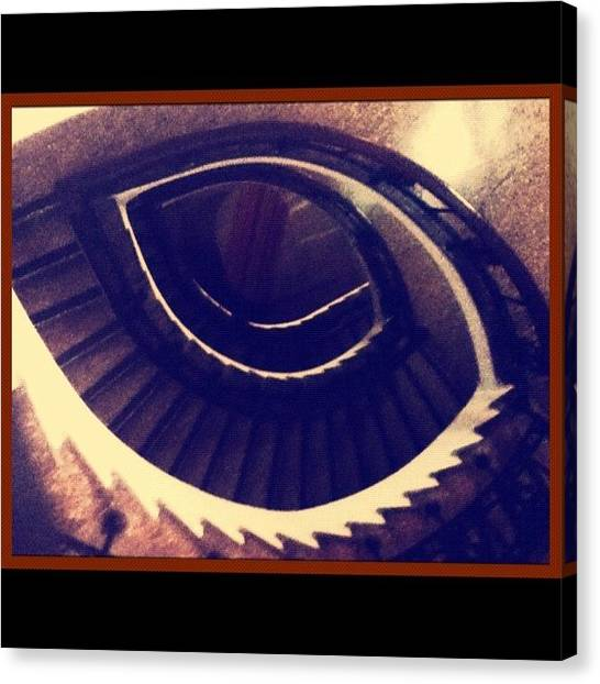 Peruvian Canvas Print - Watch Your #step 🚶 #stairs #eye by Carlu Chi