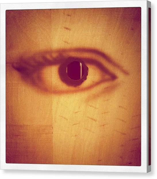 Irises Canvas Print - Watching You by Florian Divi