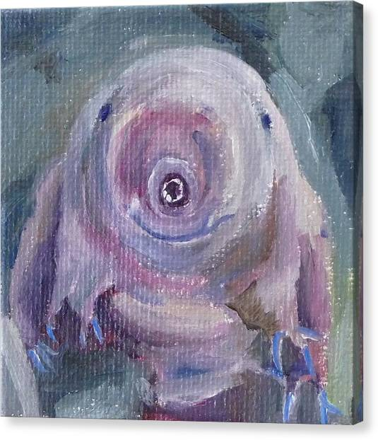 Water Bear Canvas Print