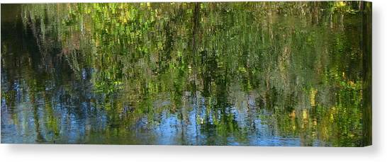 Water Emeralds And Sapphires Canvas Print by Gretchen Wrede