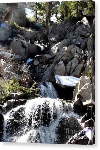 Waterfall 5 Canvas Print