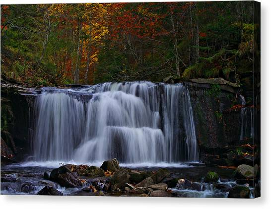 Waterfall Svitan Canvas Print