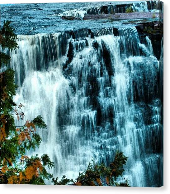 Ontario Canvas Print - #waterfalls #autumn #thunderbay by Michael Squier
