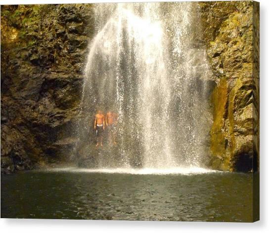 Waterfalls Montezuma Costa Rica Canvas Print