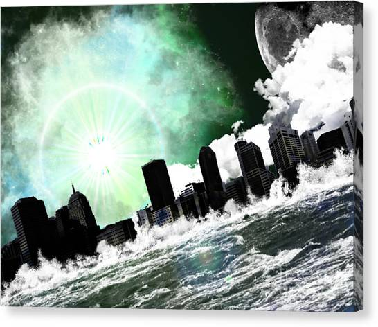 Waterising Canvas Print