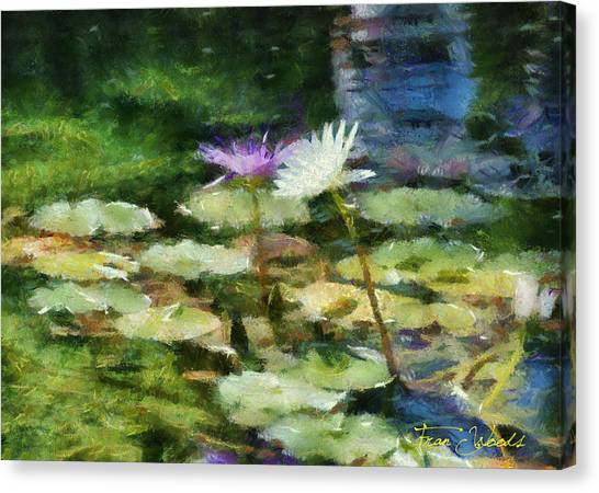 Waterlilies 2 Canvas Print