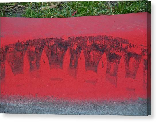 Watermelon Curb Canvas Print