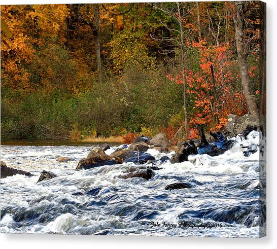 Waters Of Algonquin Canvas Print