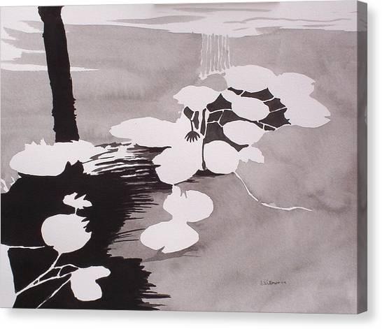 Watrer Lillies Canvas Print