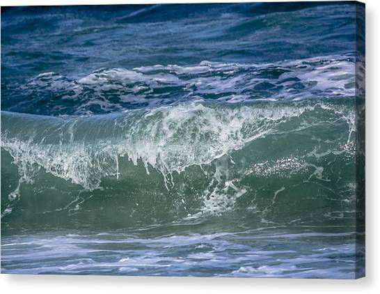 Waves Canvas Print by Andrea  OConnell