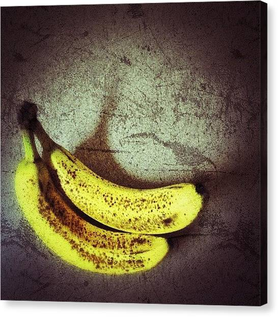 Bananas Canvas Print - We Are In A Banana Republic by Escapist's Alley