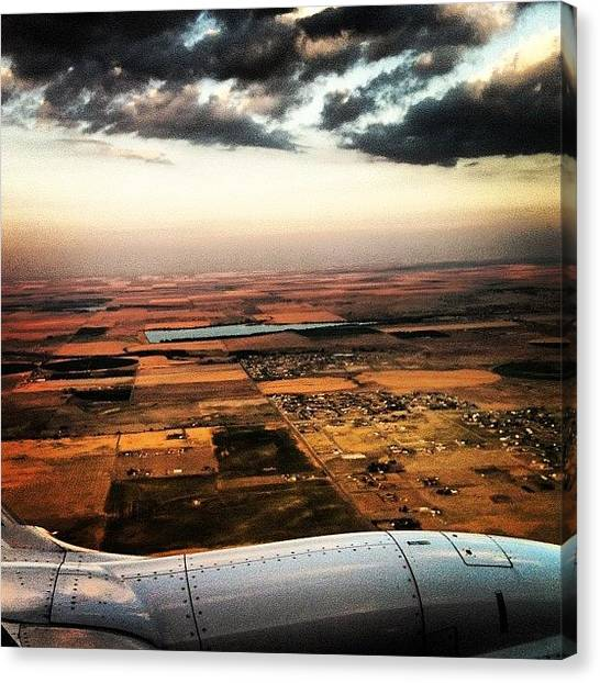 Meat Canvas Print - We Arrived Safely In Colorado by Tara Ham