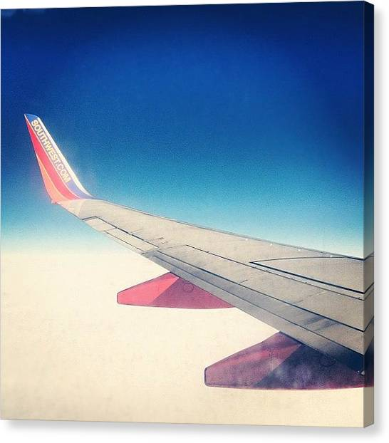 Iphone Canvas Print - We Fly So High. #iphone #instagram by Johnathan Dahl