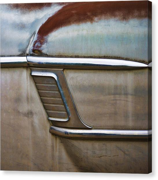 1950s Canvas Print - Weathered But Still Cool by Carol Leigh