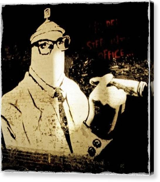 Graffiti Canvas Print - #webstagram #clubsocial #graffiti by A Rey