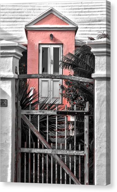Welcome Canvas Print by Michael Braxenthaler