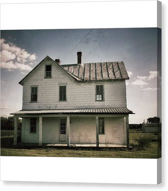 Farmhouse Canvas Print - Welcome This Is A Farmhouse by Rob Beasley