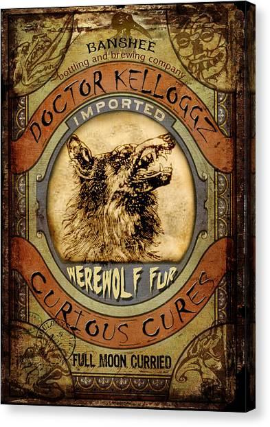 Werewolf Fur  Canvas Print