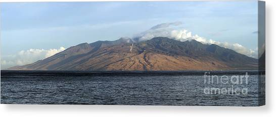 Mountain West Canvas Print - West Maui Mountains At Sunrise by Dustin K Ryan