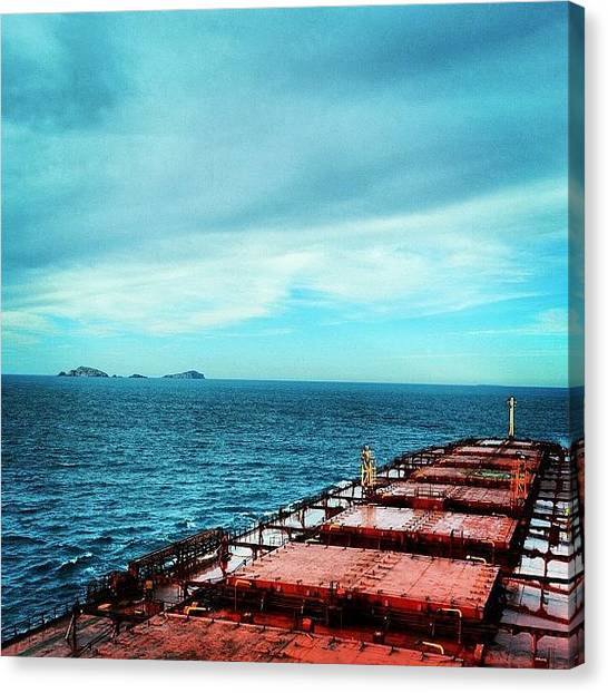 Marines Canvas Print - West Moncoeur Island by Robert Puttman