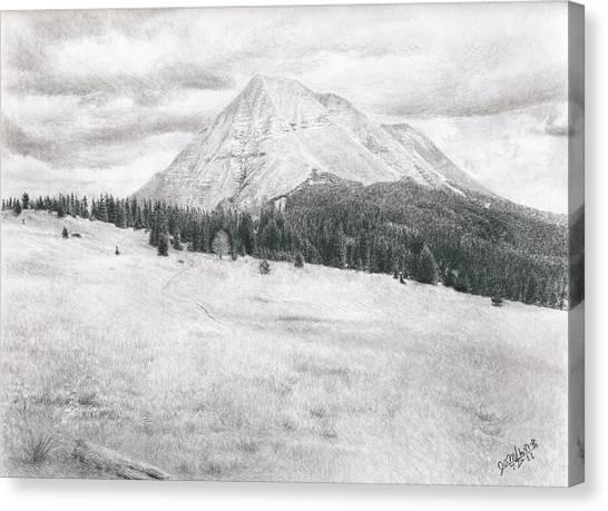 West Spanish Peak Canvas Print