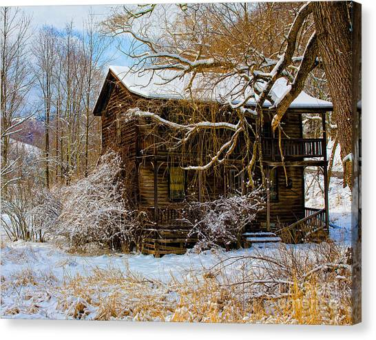 West Virginia Winter Canvas Print