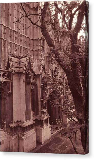 Westminster Abbey Canvas Print - Westminster Abbey by Kathy Yates