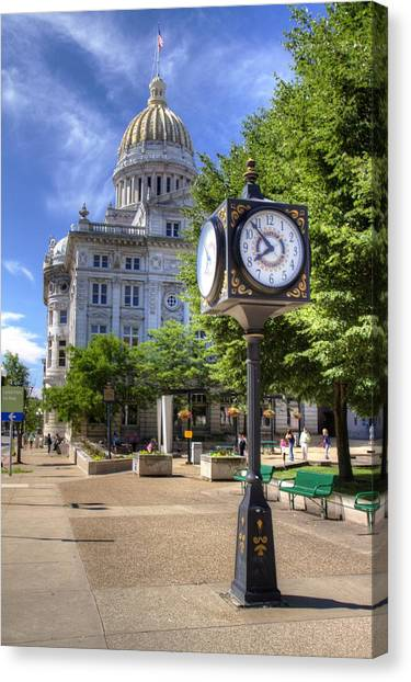 Westmoreland County Courthouse Canvas Print