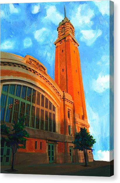 Westside Market Canvas Print