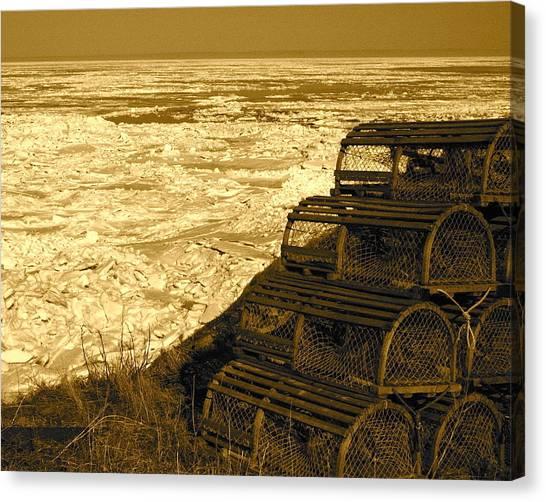 Wharf Traps Canvas Print