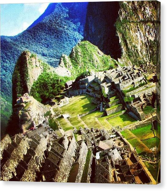 Peruvian Canvas Print - What A Great Moment !! #peru by Yannick Menard