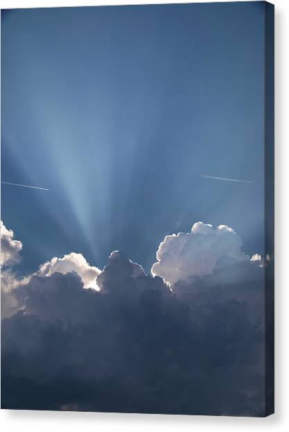 What A Light Show Canvas Print