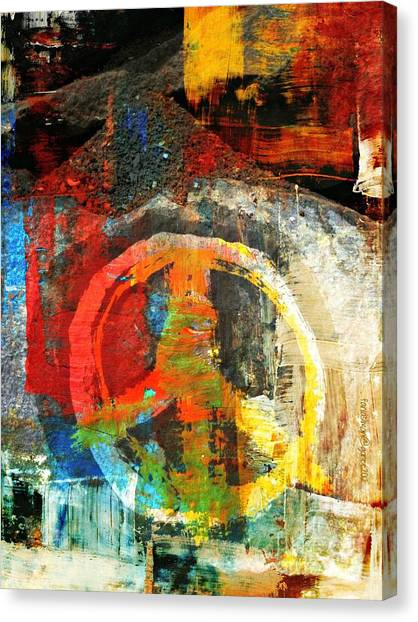 Yesayah Canvas Print - What Peace On Earth by Fania Simon