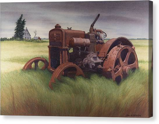 What Rust Hath Wrought  Canvas Print by Glen Heberling