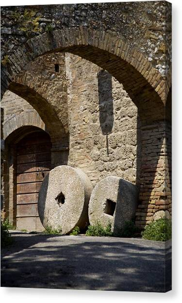 Wheeled Arches Canvas Print