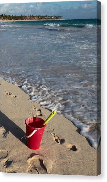 When Can We Go To The Beach? Canvas Print