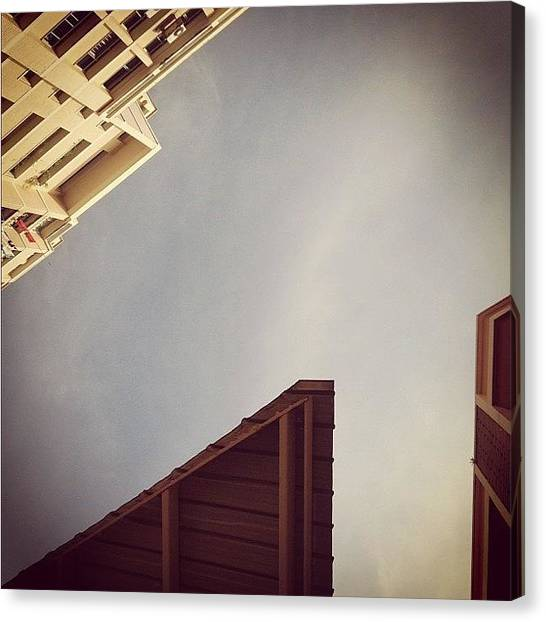 Triangles Canvas Print - When I Look Up. #whenilookup #sky by Gabriel Kang