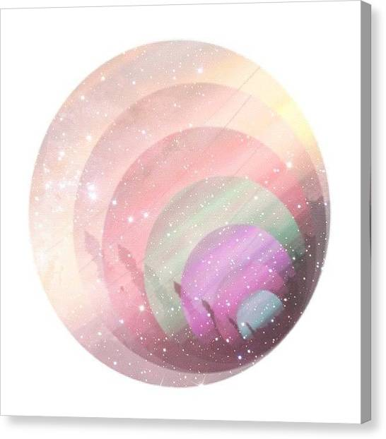 Pastel Canvas Print - When You Have A #rainbow Deep Down In by Liana Gunawan