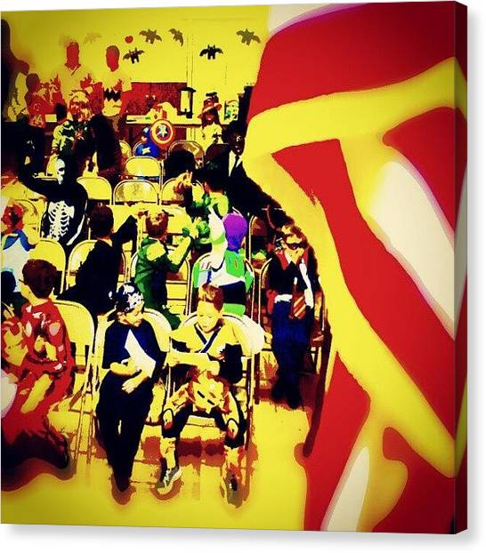 Harry Potter Canvas Print - Where Do #superheroes Hold Their by Antonio DeFeo