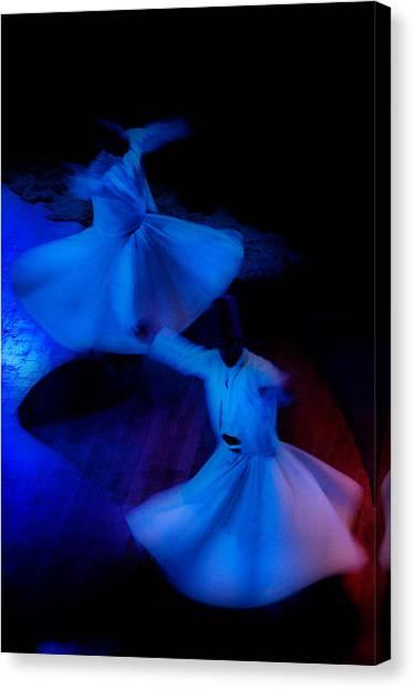 Whirling Dervish - 3 Canvas Print