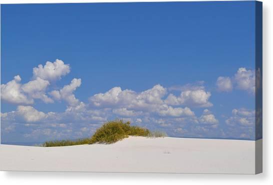 Missles Canvas Print - White Sands by A Parker