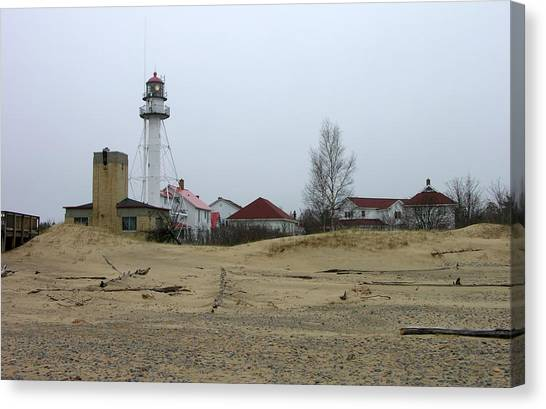 Whitefish Point Light Station Canvas Print
