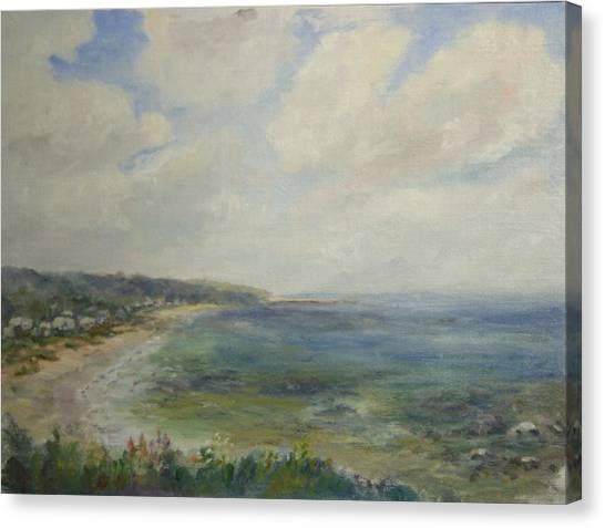 Whitehorse Beach Sunlight Canvas Print
