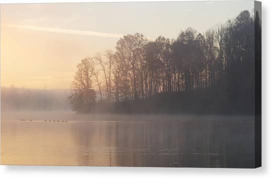 Whitewater Mist Canvas Print