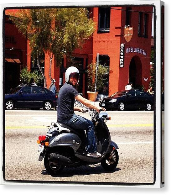 Ashes Canvas Print - Who Dat? @kdeven #scoot by Ash Eliot