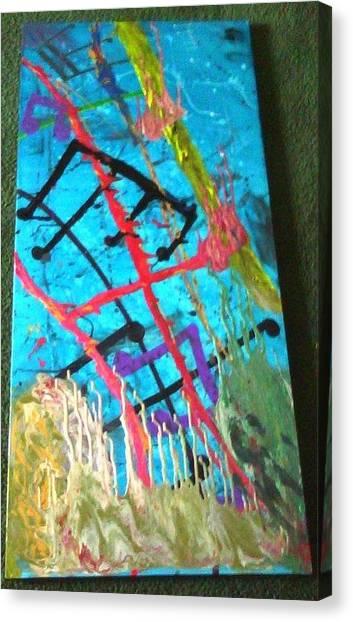 Whoa Canvas Print by Jennie  Bailey