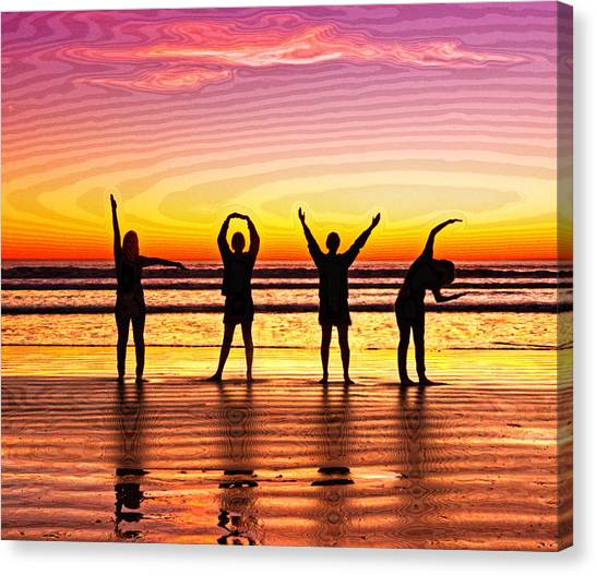 Canvas Print - Whole Lotta Love by Donna Pagakis