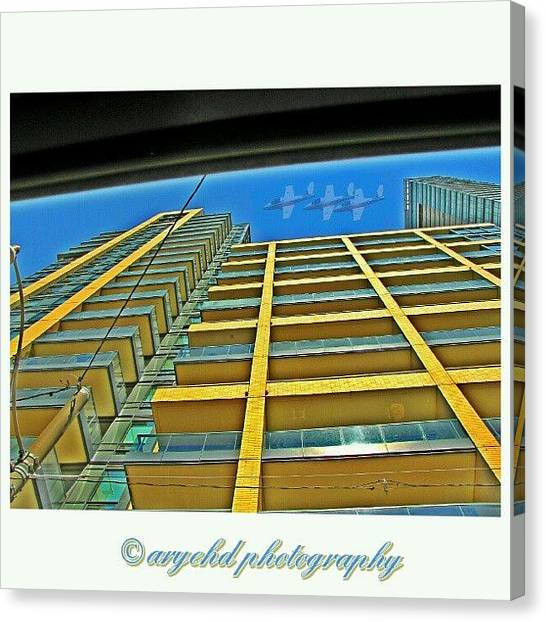 Law Enforcement Canvas Print - #whpbuildingpatterns  #cne by Aryeh D